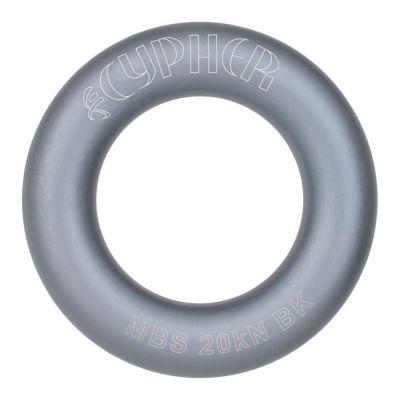 Cypher aluminum rappel ring