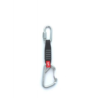 """Nylon Draw, PS Wire Gate Carabiner & PS Screwlink 12"""""""